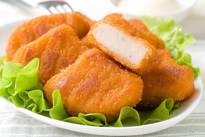 deditos de pollo