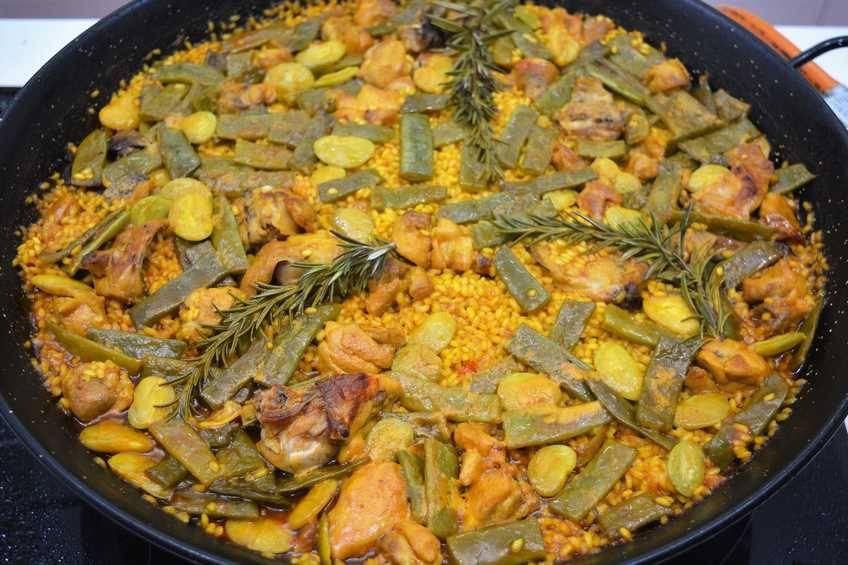 Deliciosa Paella Valenciana